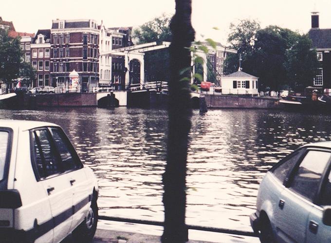 アムステルダム。Canals of Amsterdam.