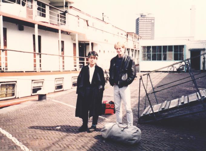 アムステルダム。Boat hotel.