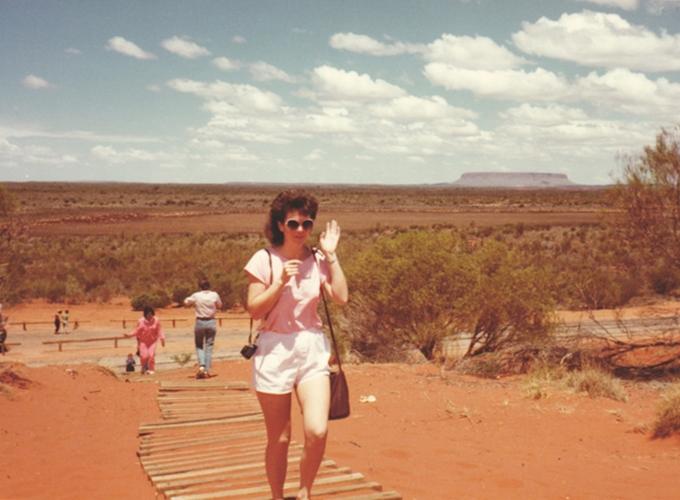 アリス・スプリングス・オーストラリア。Alice Springs.