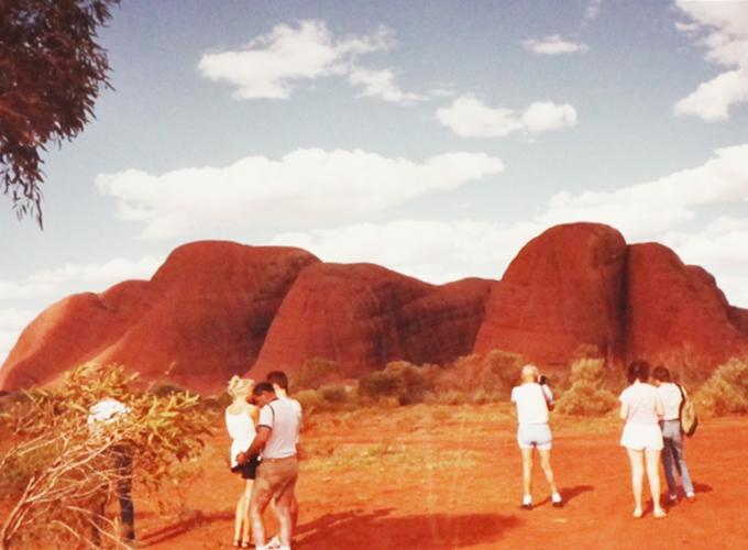 エアズロック・オーストラリア。the Olgas.