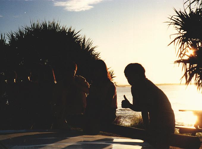 オーストラリア。ブリスベン。noosa beach