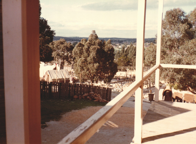 オーストラリア・メルボルン・ソブリン・ヒル。melborn Sovereign Hill.