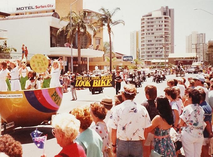 オーストリア・サーファーズ・パラダイス。Carnival in Surffers paradise, Queensland.