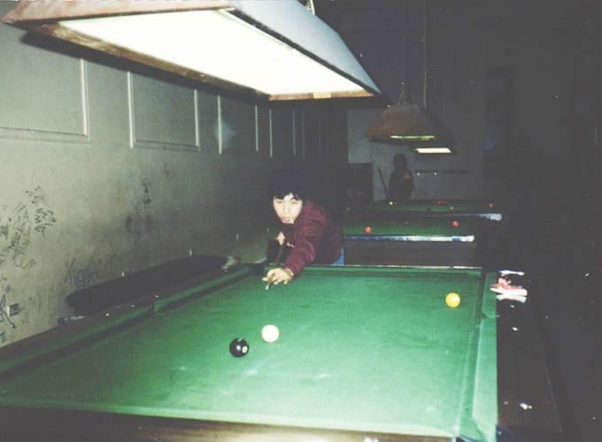 オーストラリア・シドニー。Snooker.