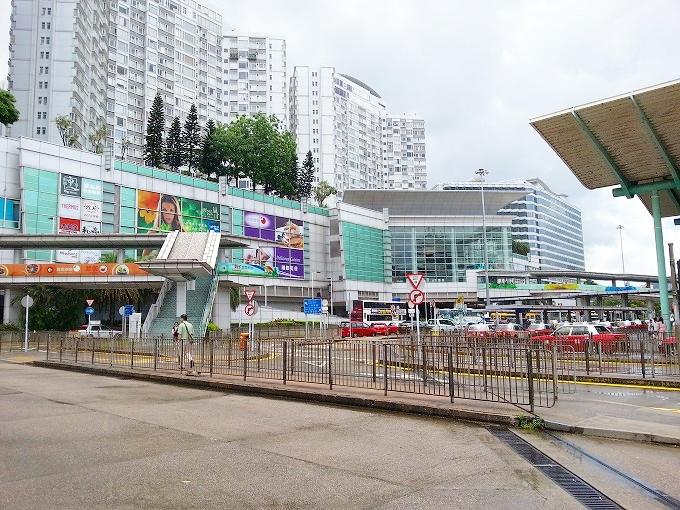 中国旅の起点・ホンハム(honghom station, Hong kong)