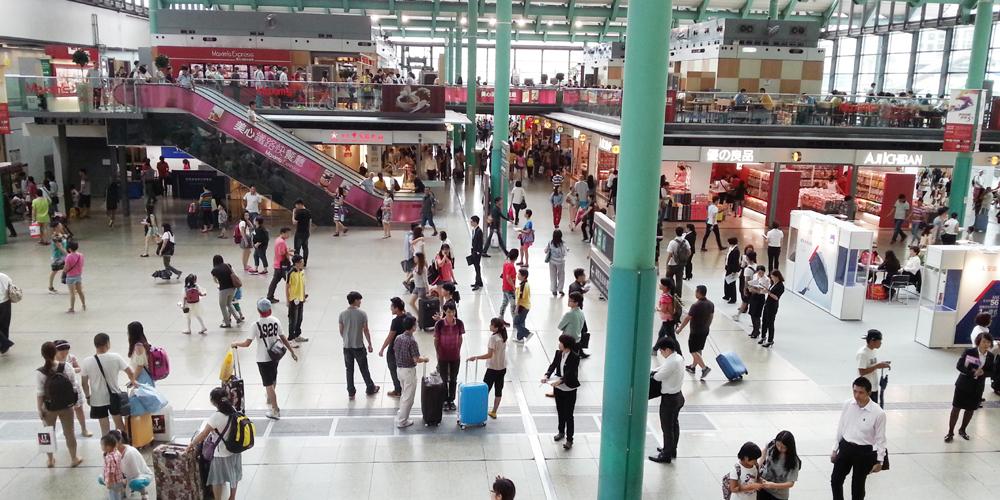 Honghom station, China.