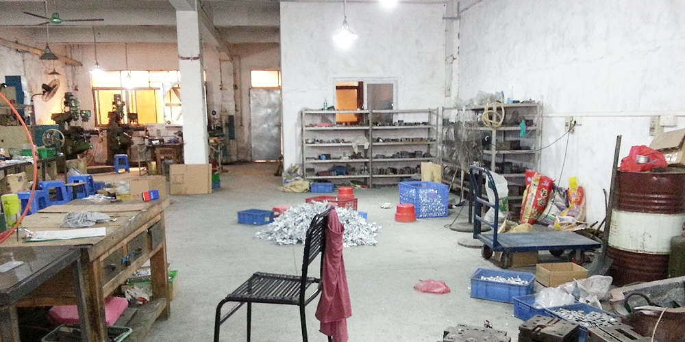 Factory in Dongguan, China.
