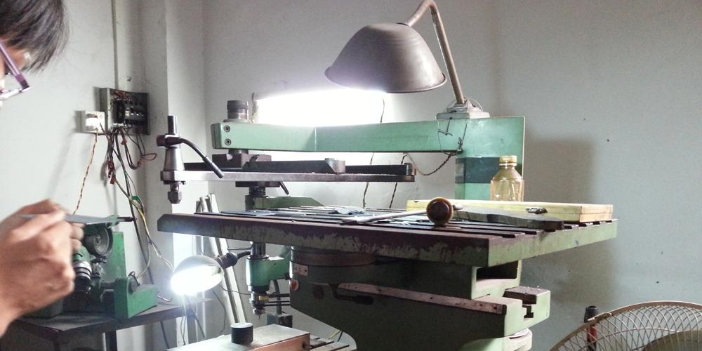 Factory in Dongguan, China.
