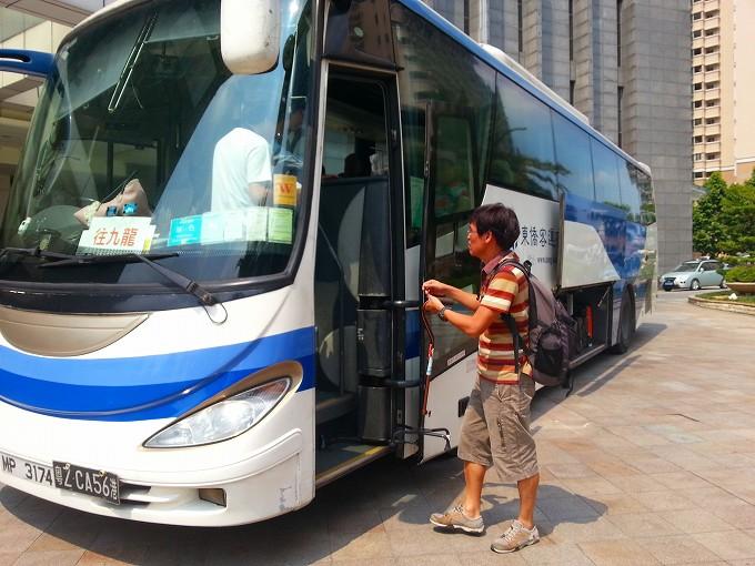 中国 広東省 東莞→香港 九龍1(Dongguan → Kowloon.)
