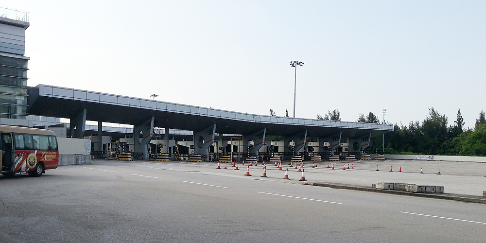 中国 広東省 東莞 Dongguan to Kowloon.