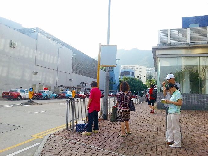 中国 東莞→香港 九龍3(Dongguan → Kowloon.)