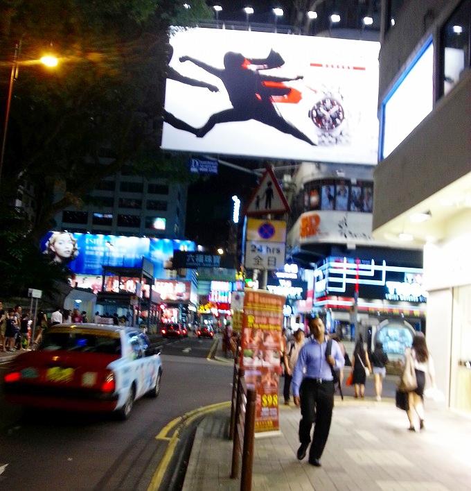 香港 九龍 尖沙咀の夜1(Night in Tsim Sha Tsui.)