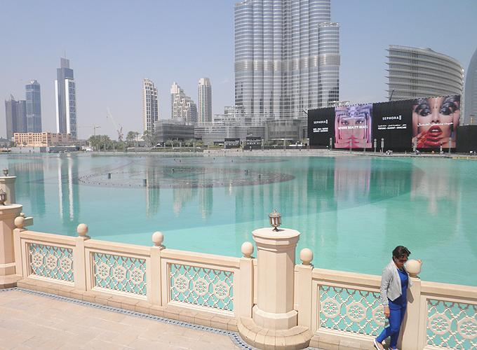 ドバイ。ザ・ドバイ・ファウンテン(The Dubai Fountain.)