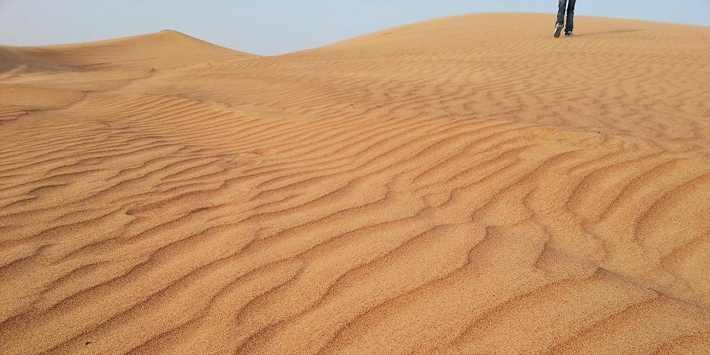 Dubai desert safari.