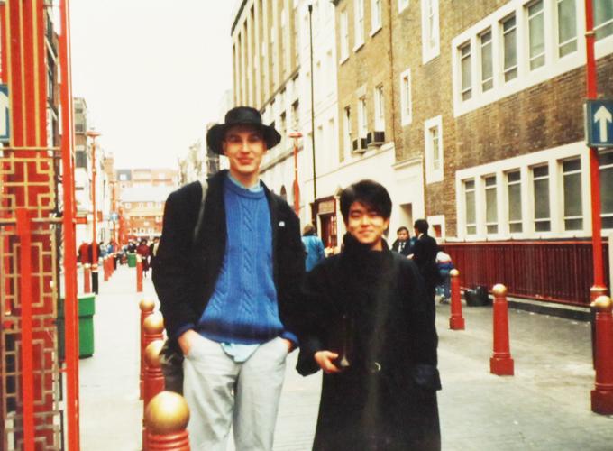 イギリス。Somewhere in London.