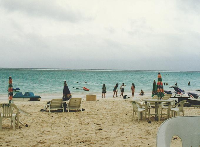 アメリカ領・グアム。Beach in Guam.