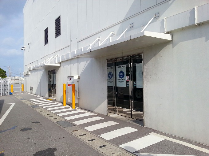 (旧)那覇LCCターミナル。