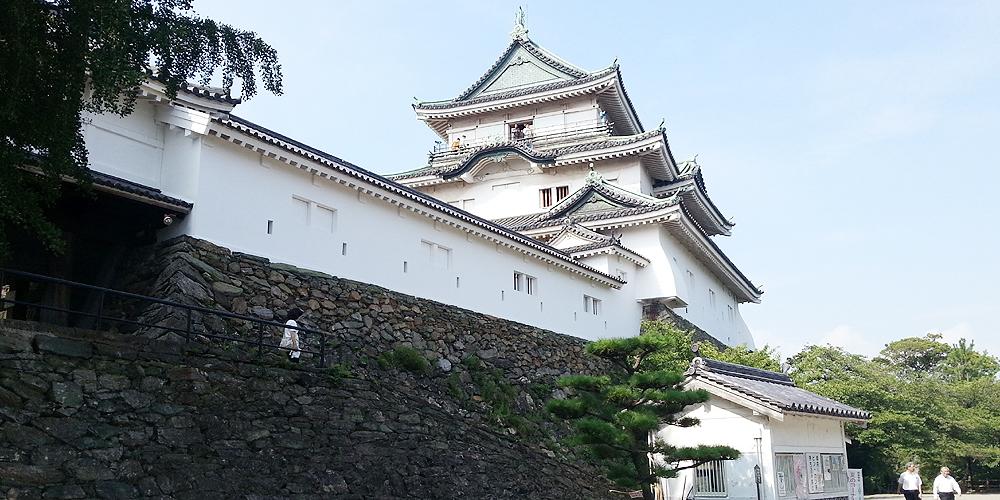 Wakayama castle, Japan.