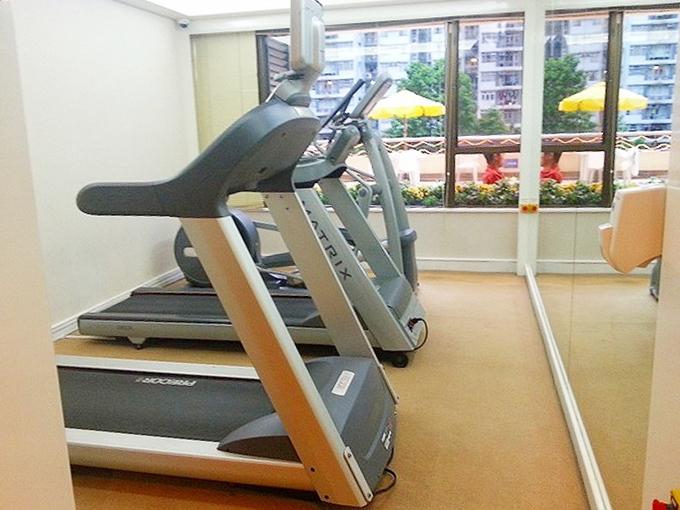 香港 城市花園酒店・シティガーデンホテル・トレーニングジム