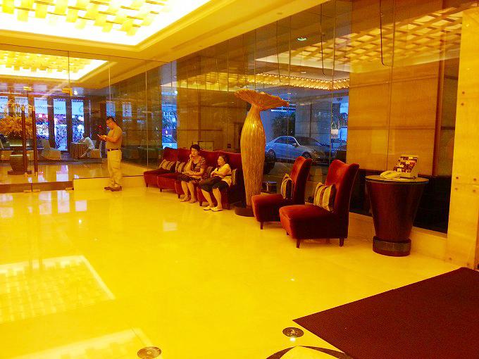香港 城市花園酒店・シティガーデンホテル・一階ロビー・エリア