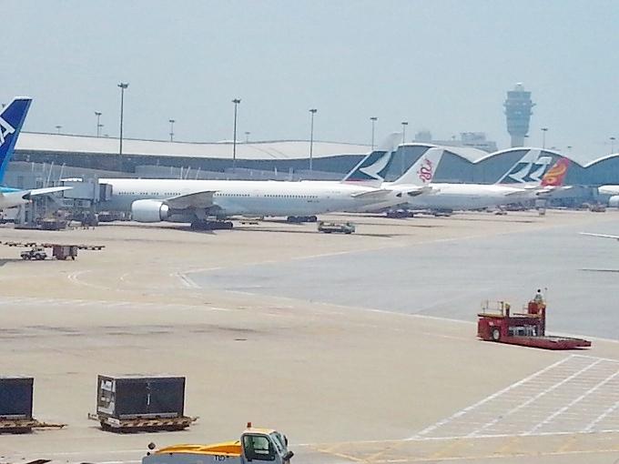 香港国際空港・飛行機コレクション