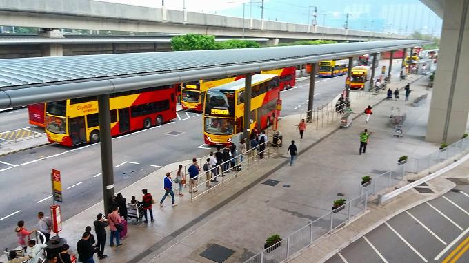 香港国際空港香港国際空港(Hong Kong International Airport.)・バス停