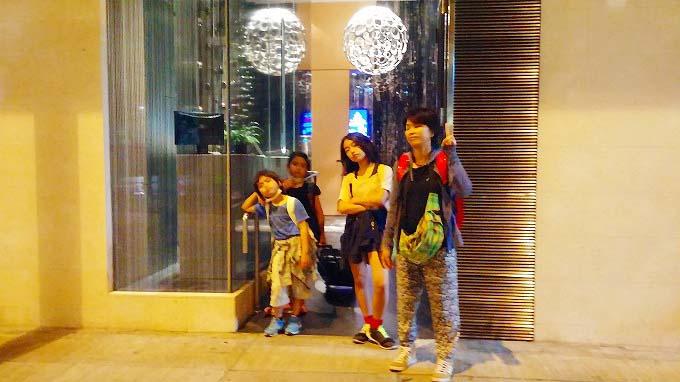 香港 九龍 オヴォロホテル