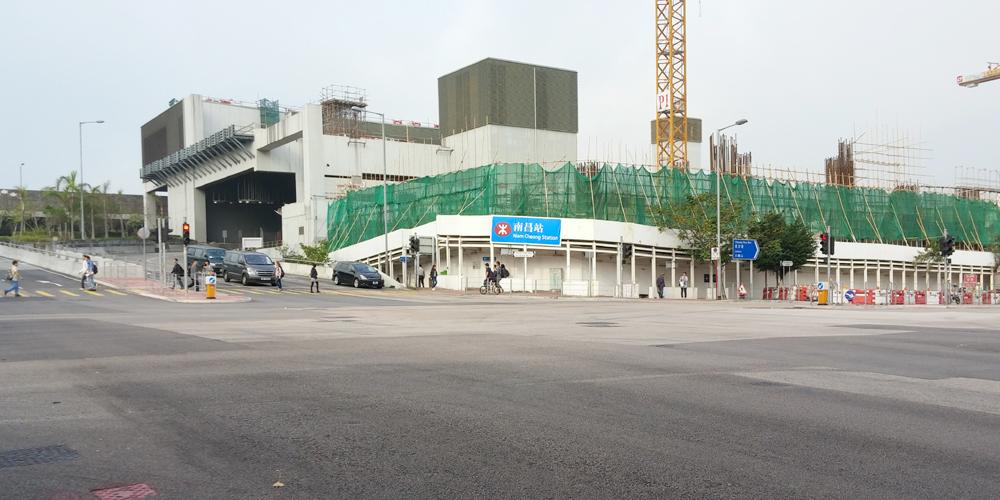 香港。南昌站・九龍の波止場に向おう(To the Kowloon wharf.)
