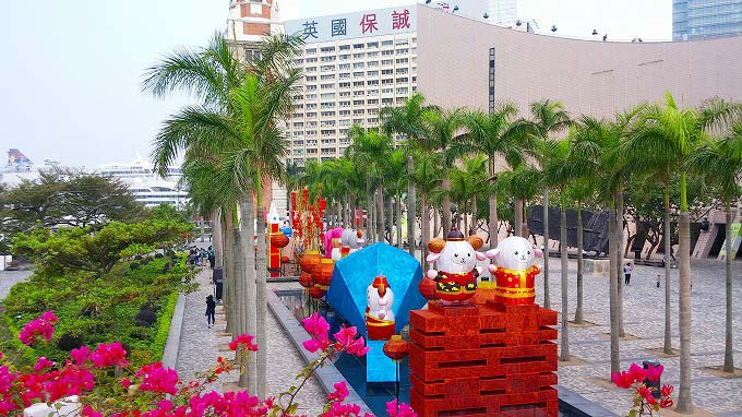 香港 九龍 天星碼頭(Star Ferry Pier.)