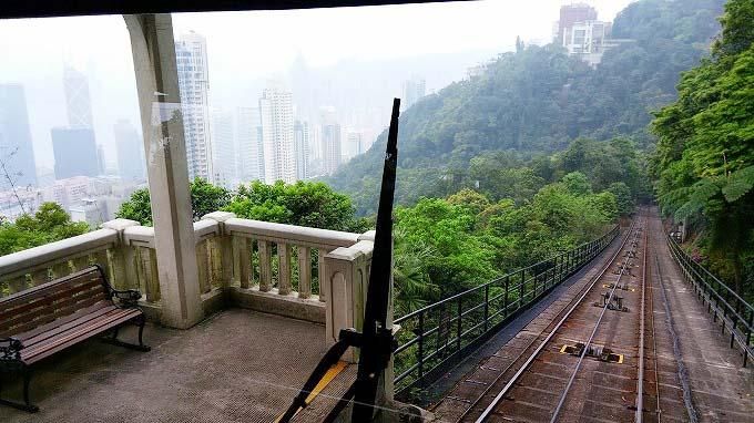 香港島 ピークトラム(Peak Tram.)