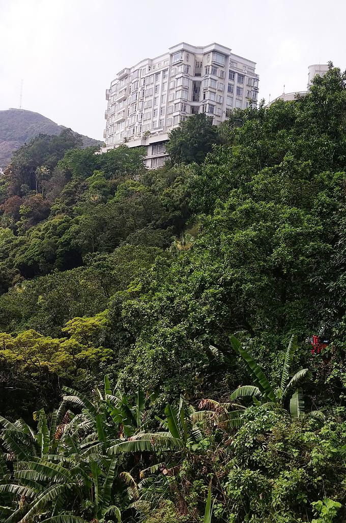 香港島 太平山 ビクトリア・ピーク広場(Victoria Peak.)