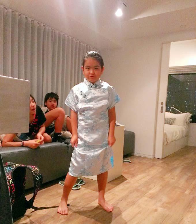 香港 チャイナドレス(旗袍 Qipao)