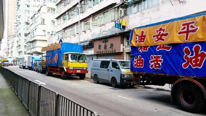 香港 九龍 南昌の朝(Nanchang the morning.)