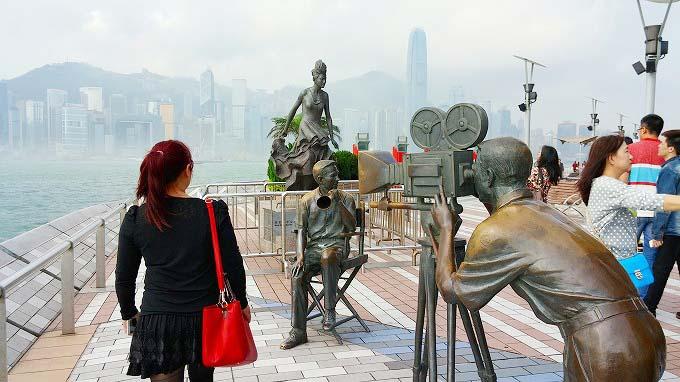 香港 九龍 星光大道 Part1(Avenue of Stars.)