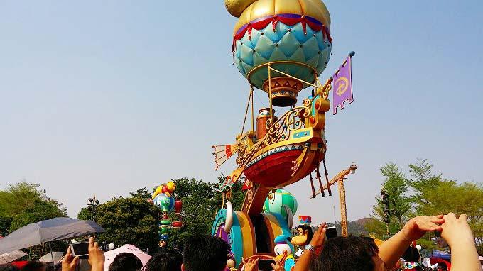 パレード 香港ディズニーランド(香港迪士尼樂園/Hong Kong Disneyland.)。