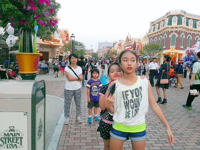 メインストリートUSA 香港ディズニーランド