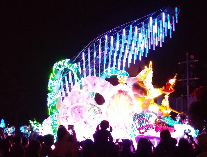 香港ディズニーランド(香港迪士尼樂園/Hong Kong Disneyland.)。