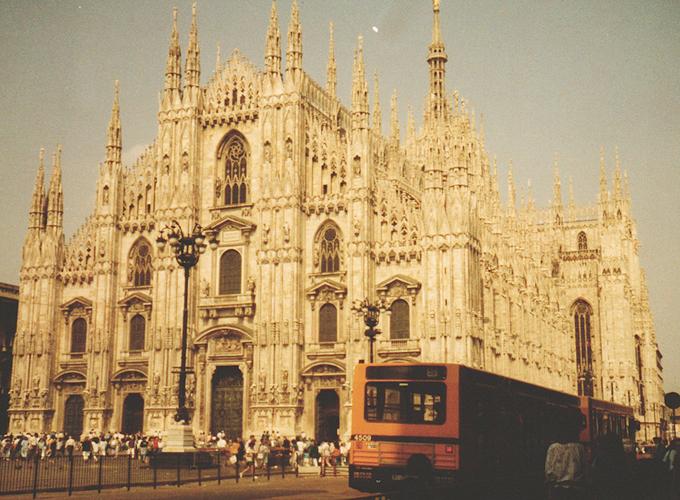 ヨーロッパ。Duomo di Milano.