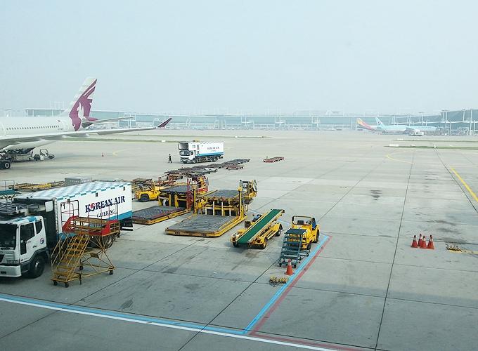 韓国旅行。仁川国際空港、Inchon Airport.