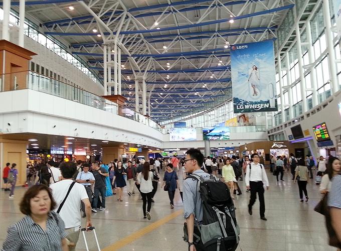 韓国ソウル旅行。