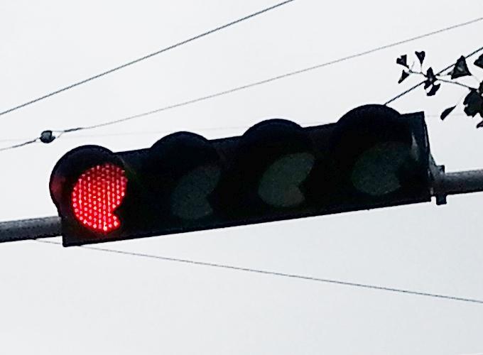 韓国 ソウル旅行 慶山市 キョンサン市 4つ目の信号