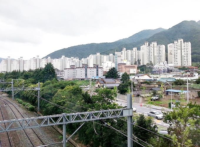 韓国ソウル旅行。慶山市。