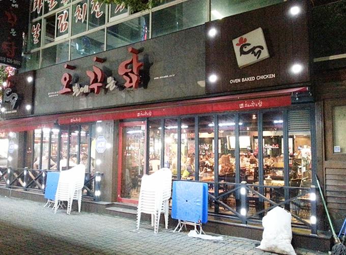 韓国ソウル旅行。北大邱。