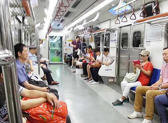 韓国ソウル旅行。明洞。