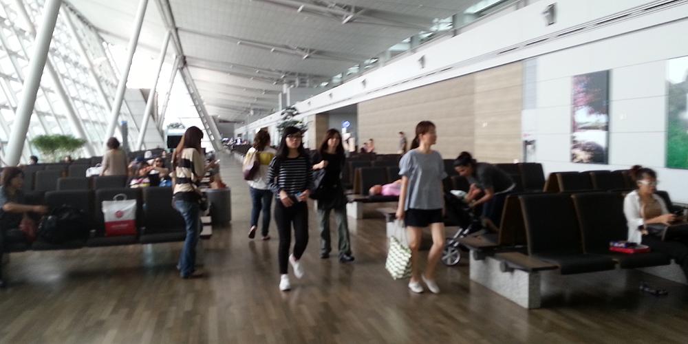 Incheon International Airport, Korea.