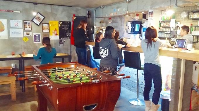 韓国。ソウル。インノホステルの朝食(Breakfast.)