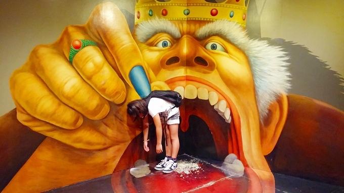 韓国・ソウル。巨人につままれてます。 - ロッテワールド・アドベンチャー(Lotte World.)