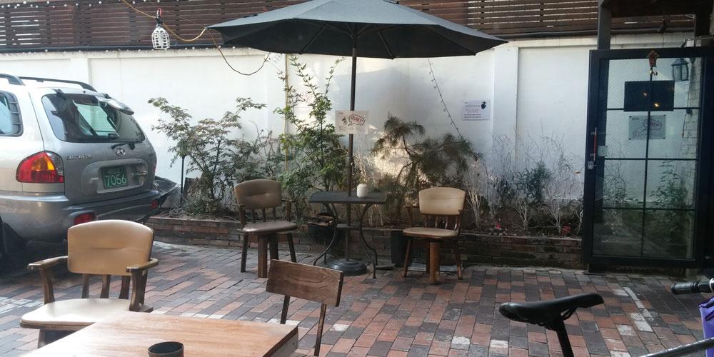 韓国ソウル。Inno Hostel & Pub Lounge Hongdaeの朝