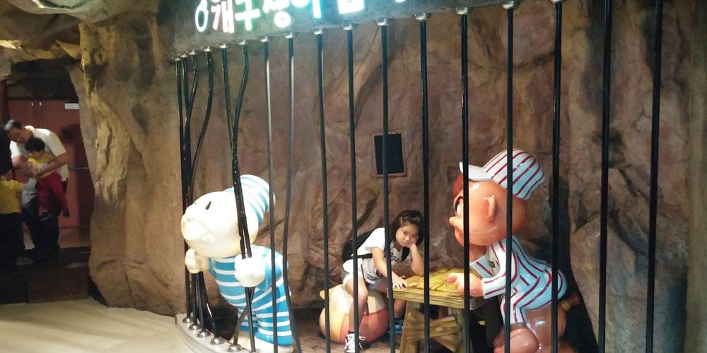 韓国ソウル。ロッテワールド・アドベンチャー3階4階(Lotte World.)