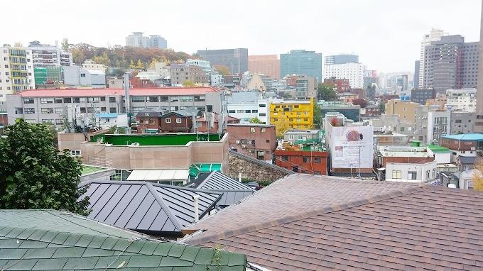 韓国。ソウル。南山からソウル駅方面の景色。 - 明洞散策(Walk in Myeong-dong.)